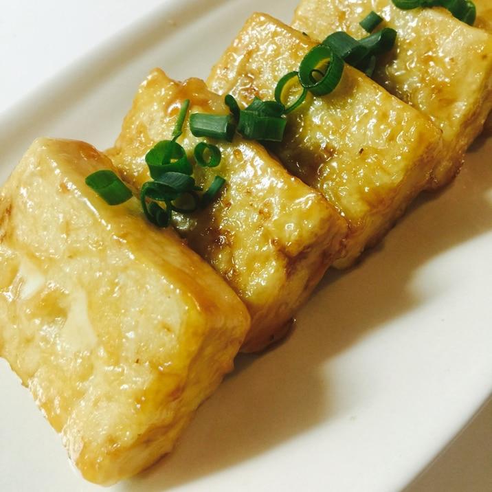豆腐(鶏もも肉)の照り焼きステーキの画像