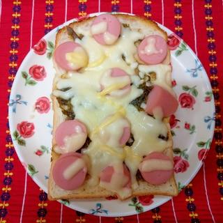 ふき味噌トースト