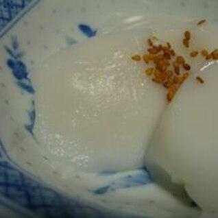手作りぴーなつ豆腐