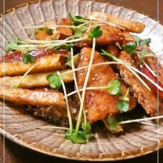 さつま芋がうまい✿ぶりの香り揚げ漬け