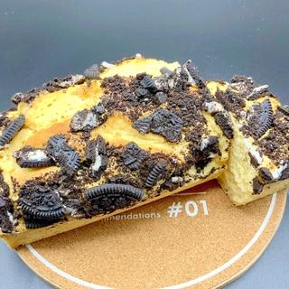 HMとアイスクリームで簡単パウンドケーキ^_−☆