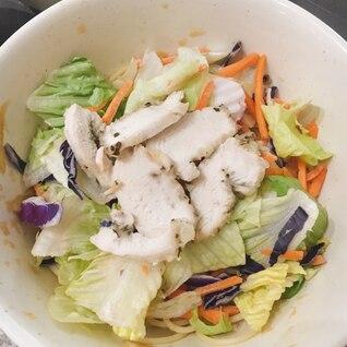 【再現レシピ】セブンイレブンのチキンパスタサラダ