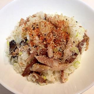 リメイク☆残りもので美味しく作る秋刀魚の混ぜご飯