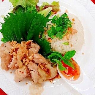 シンガポールライス 海南鶏飯(ハイナンチーファン)