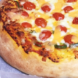 HB簡単☆万能なピザ生地☆