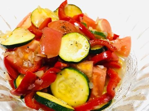 ズッキーニ♡パプリカ♡トマトでマリネ★
