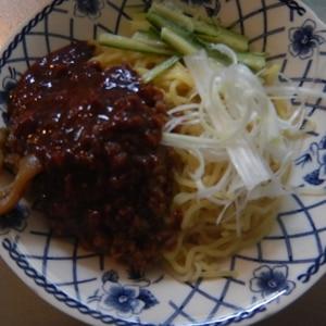 焼きそば麺で☆本格四川ジャージャー麺