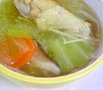 手羽元の中華スープ