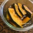 麺つゆで簡単☆かぼちゃの揚げ浸し