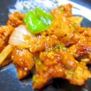 ダイズラボの大豆のお肉で中華風ケチャップ炒め