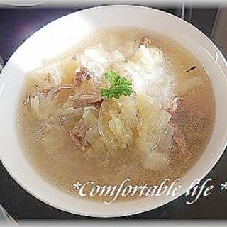 """★""""豚肉と白菜の台湾風スープ"""