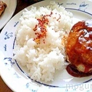 簡単!豚ばらスライス肉で作ったハンバーグ