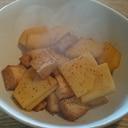 ルタバカと厚揚げのポン酢煮