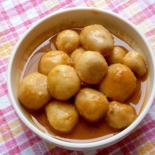 めんつゆで!里芋の煮物