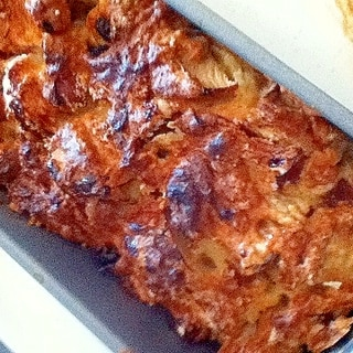ざくざくリンゴの簡単ケーキ。冷凍保存で、リンゴ消費