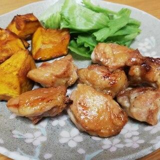 焼肉のタレで鶏肉のオーブン焼き