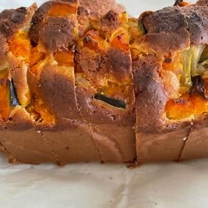 ホットケーキミックスでかぼちゃの簡単パウンドケーキ