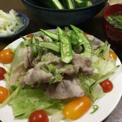 氷水にさらさないほうが美味しいですね(^^) 野菜たっぷりで罪悪感なくたくさん食べちゃいました♡