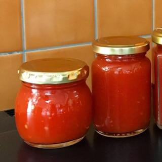 保存用♡瓶詰めトマトソース