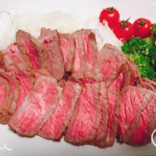 (staub)放置のがっつりお肉シリーズ②牛たたき