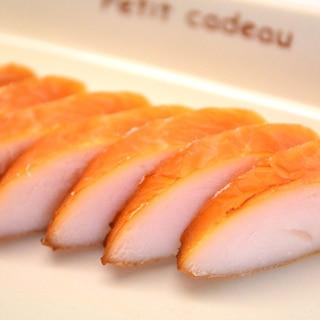 <定番シリーズ・燻製(土鍋可)>ささみの塩燻製