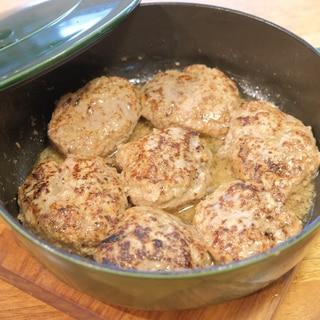 コストコの合い挽き肉で作るハンバーグステーキ