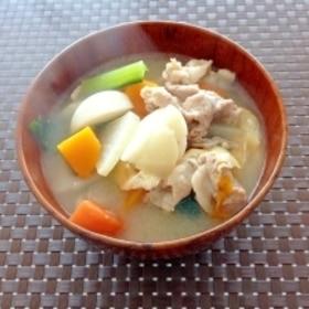 コクうま☆根菜たっぷりぽかぽか豚汁