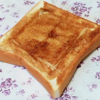 おいしいコツ有り!簡単シナモンシュガートースト