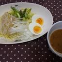 ネギ味噌つけダレ麺