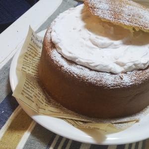 乳製品不使用ふわしと!スポンジケーキ&簡単デザート