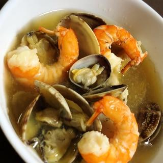 魚介の出汁たっぷり☆和風スープ