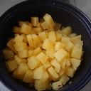 簡単☆すっぱい美味しい!さつまいものかぼす煮