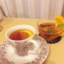 寒い冬はHOTオレンジティーでビタミン補給☆