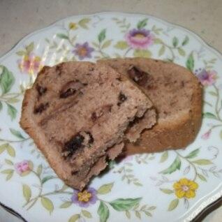パウンドチョコケーキ