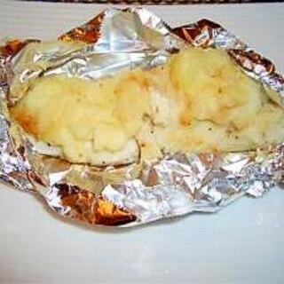 白身魚のマッシュポテト焼き