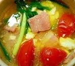 豆腐のイタリアンスープ