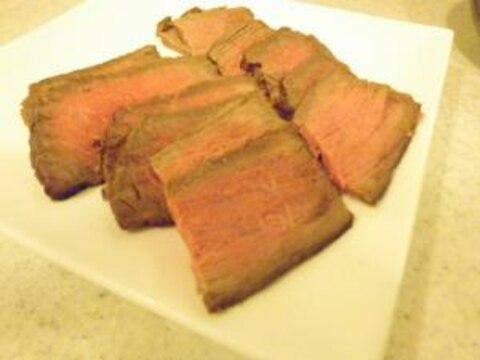 漬けて焼くだけカンタン♪ 牛肉のたたき☆