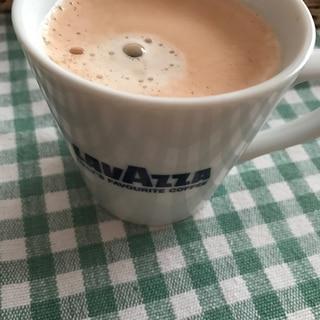 ラズベリーショコラミルクコーヒー