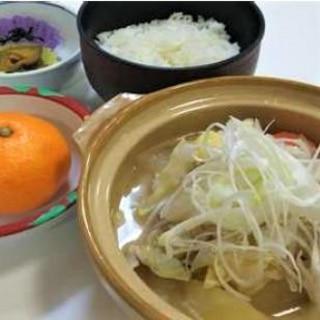 野菜たっぷり豚汁定食