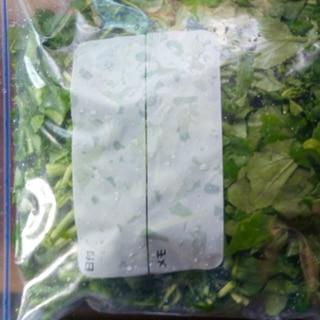 クレソンのパラパラ冷凍保存の仕方