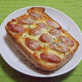 ウインナーチーズトースト