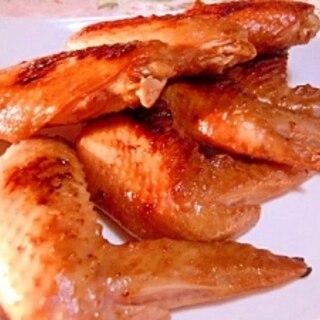めんつゆde❤鶏手羽先の蜂蜜照り焼き❤