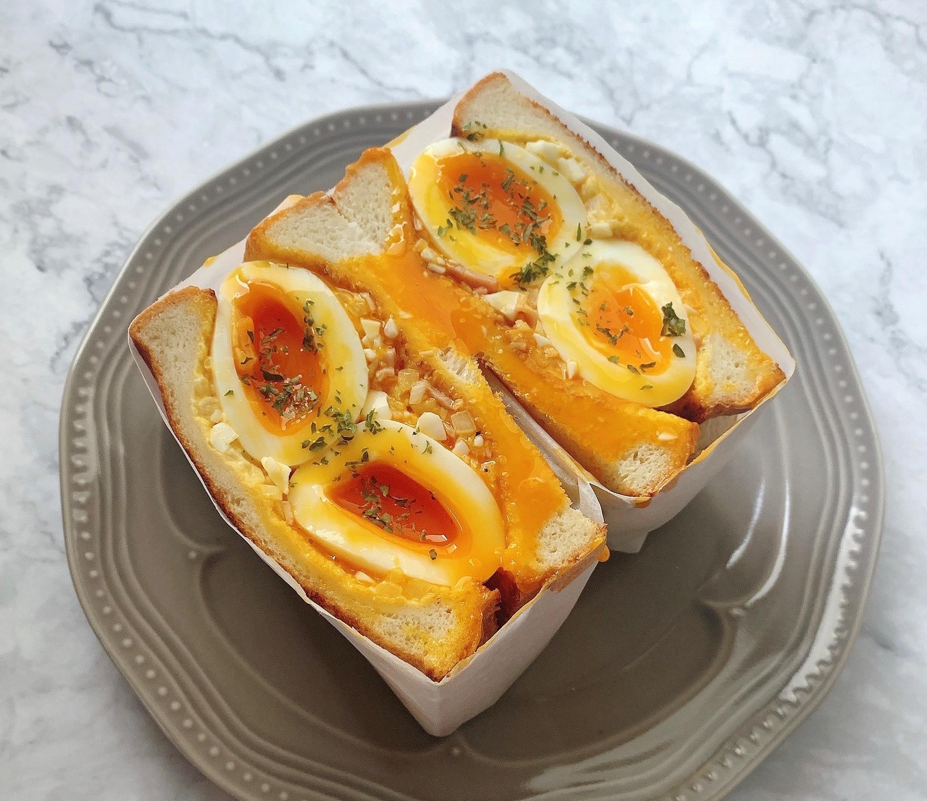 卵 レシピ 半熟