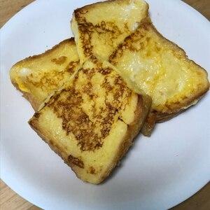 フライパン一つで、簡単フレンチトースト♪