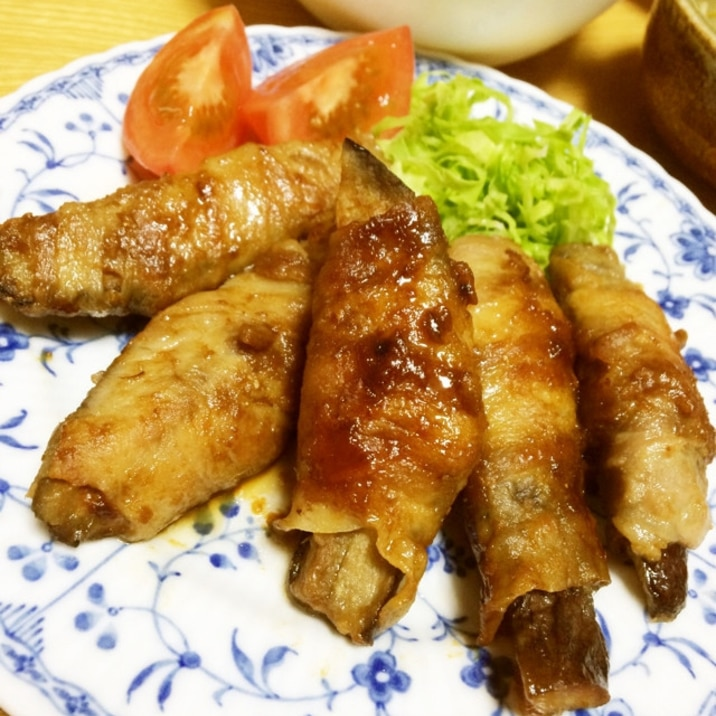 味噌ダレが美味しい*なすの豚肉巻き