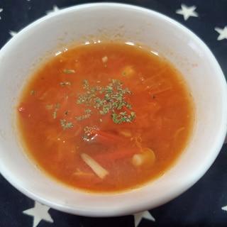 トマトで簡単!ミネストローネ風スープ