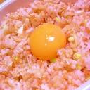 簡単お昼に~鮭フレークねぎゴマ丼