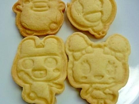 簡単型抜きクッキー★マーガリンとサラダ油を使用