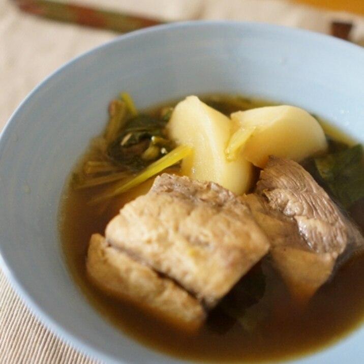 贅沢な旨み♡めかじきアラとかぶのうま煮