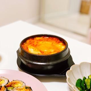 ダシダで簡単★ アサリ抜きの純豆腐チゲ